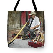 Didgeridoo Performer Tote Bag