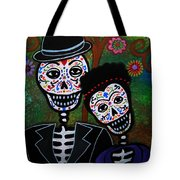 Diego Rivera And Frida Kahlo Tote Bag