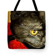 Diego The Cat Tote Bag