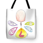 Different Faces Tote Bag
