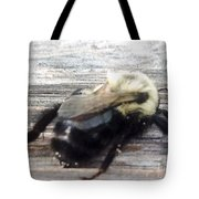 Different Take Of A Bee Tote Bag