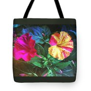 Different Twins Tote Bag