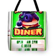 Digger's Diner Tote Bag