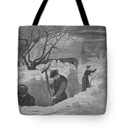 Digging Out Tote Bag