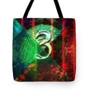 Digit 3 Tote Bag