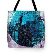 Digital Abstraction Tote Bag