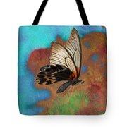 Digital Art Butterfly Tote Bag