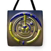 Digital Art Dial 5 Tote Bag