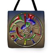 Digital Art Dial 6 Tote Bag