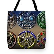 Digital Art Dials Tote Bag