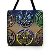 Digital Art Dials Tote Bag