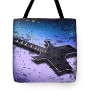 Digital-art E-guitar II Tote Bag by Melanie Viola