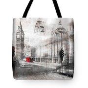 Digital-art London Composing Tote Bag