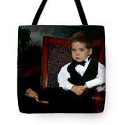 Digital Art Painting Of My Son Tote Bag