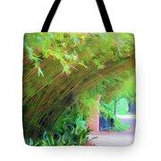 Digital Bamboo Rip Van Winkle Gardens  Tote Bag