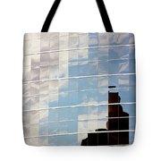 Digital Clouds Tote Bag