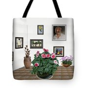 Digital Exhibartition _ Plant 12 Tote Bag
