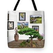 Digital Exhibition _ Bonsai 22 Tote Bag