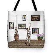 Digital Exhibition _ Dancing Girl  Tote Bag