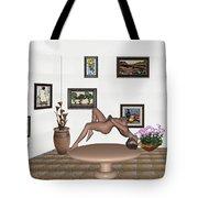 Digital Exhibition _ Girl 50 Tote Bag