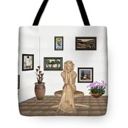 digital exhibition _ Memories of childhood 6 Tote Bag