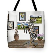 Digital Exhibition _ Statue Of Branches Tote Bag