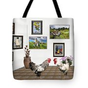 Digital Exhibition _ The World Is Narrow For Two Tote Bag