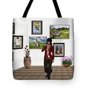 Digital Exhibition _posing Girl 221 Tote Bag