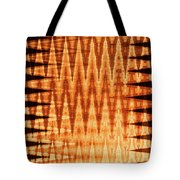 Digital Fire Tote Bag