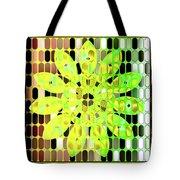 Digital Floral Tote Bag