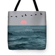 Digital Illustration Tote Bag