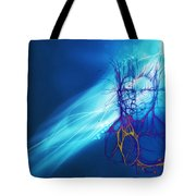 Digital Liquid Tote Bag