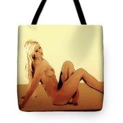 Digital Nude Color Tote Bag