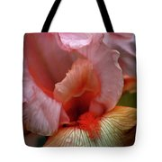Digital Oil Painting Pink Iris 9915 O_2 Tote Bag