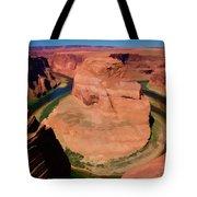Digital Paint Horseshoe Bend  Tote Bag