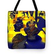 Digital Still Life Tote Bag