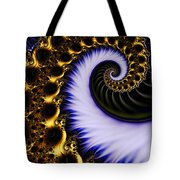 Digital Wave Tote Bag