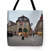 Dijon Street Corner Tote Bag