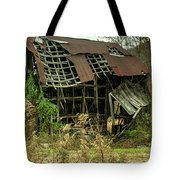 Dilapidated Barn Morgan County Kentucky Tote Bag
