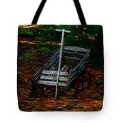 Dilapidated Wagon Tote Bag