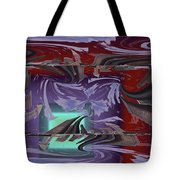 Dilemma At High Tide Tote Bag