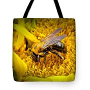 Diligent Pollinating Work Tote Bag