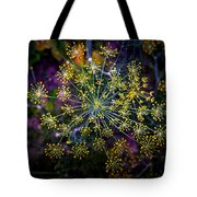 Dill Going To Seed Tote Bag