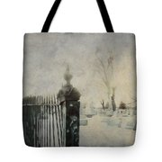 Dim Gothic Blur Tote Bag