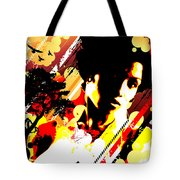 Dim Sunrise Tote Bag