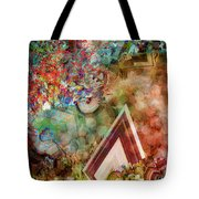 Dimensional Journey Tote Bag