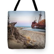 Dimitrios Shipwreck Tote Bag