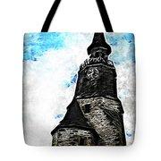 Dinan Clock Tower Tote Bag