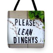 Dinghy Do's Tote Bag