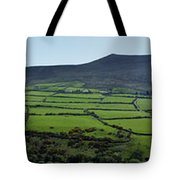 Dingle Peninsula Panorama Ireland Tote Bag